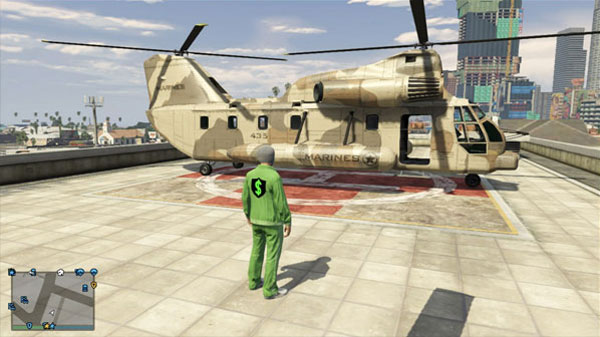 Where to steal a Cargobob helicopter in GTA Online