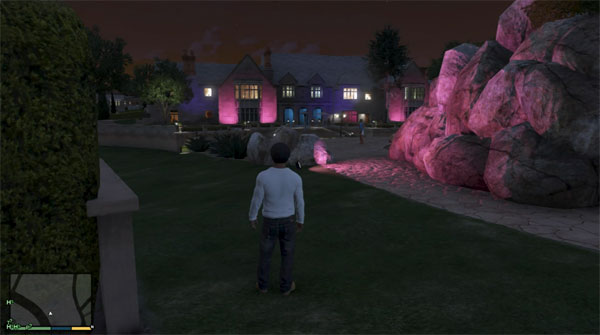 Grand Theft Auto 5 Playboy Mansion Location