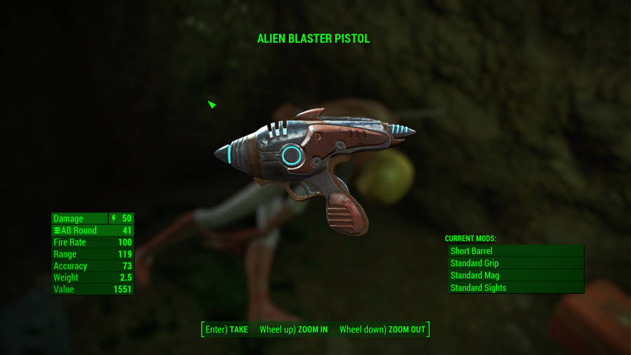 Fallout 4 Guide - Where To Find The Alien Pistol