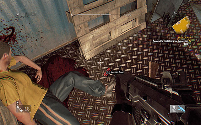 How do you hook up the amplifier before the bombing in dying light