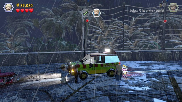 Lego jurassic world game guide walkthroughl as the rescued lex murphy approach the other car and scream to make car windows gumiabroncs Images