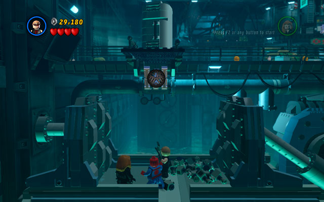 At the moment you will be transferred to a new location - Exploratory Laboratory - Walkthrough - LEGO Marvel Super Heroes - Game Guide and Walkthrough