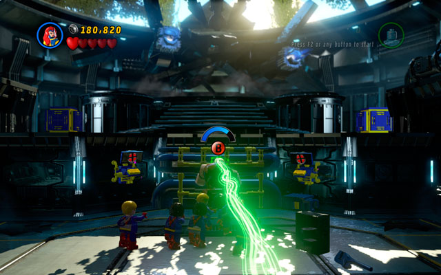 The last sequence is quite simply - Juggernaut - Boss fights - LEGO Marvel Super Heroes - Game Guide and Walkthrough