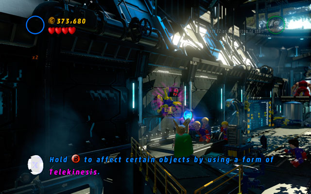 To obtain this minikit, you must destroy all four computers during the last fight with Juggernaut (they are located in the corners of the room) - Juggernauts and Crosses - Minikit Sets - LEGO Marvel Super Heroes - Game Guide and Walkthrough