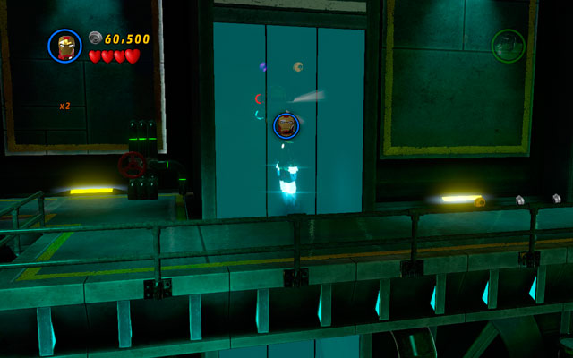 Right after the beginning choose a flying character and fly to the left to uncover a hidden location - Taking Liberties - Minikit Sets - LEGO Marvel Super Heroes - Game Guide and Walkthrough