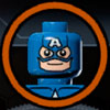 Captain America (Classic) - Characters in The Brick Apple Bonus Mission - Superheroes and Archvillains - Characters to Unlock - LEGO Marvel Super Heroes - Game Guide and Walkthrough