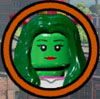 She-Hulk - Characters in New York City - Superheroes and Archvillains - Characters to Unlock - LEGO Marvel Super Heroes - Game Guide and Walkthrough