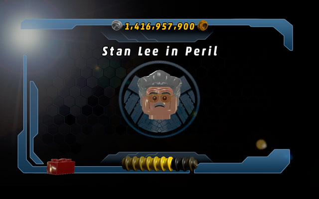 Stan Lee is having a very bad luck - he constantly puts himself into dangerous situations - Stan Lee in Peril - Maps - LEGO Marvel Super Heroes - Game Guide and Walkthrough