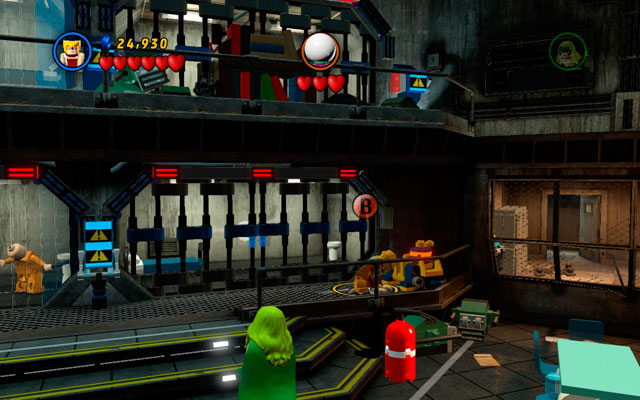After entering the prison block (where Mysterio is hiding), choose any character with claws - The Thrill of the Chess - Deadpool Bonus Missions: Collectables - LEGO Marvel Super Heroes - Game Guide and Walkthrough