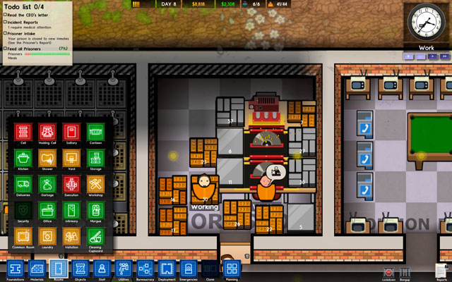 Prison Architect Can T Zone Rooms