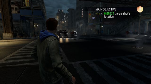 Walk over to the indicated location - On the trail of a killer! - Walkthrough - The Amazing Spider-Man 2 - Game Guide and Walkthrough