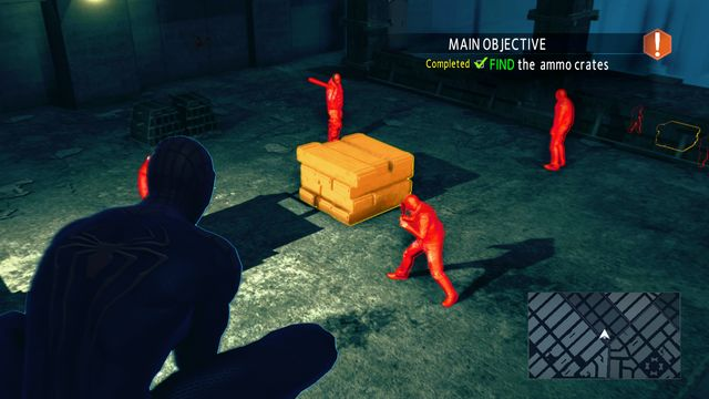 Spider-sense detects targets - On the trail of a killer! - Walkthrough - The Amazing Spider-Man 2 - Game Guide and Walkthrough