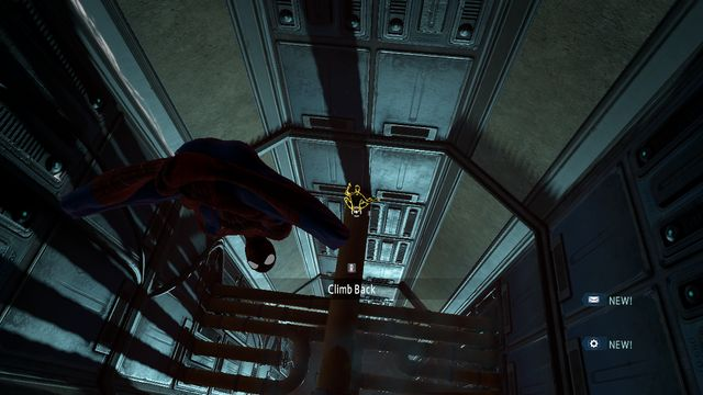 Rappel, using the web - Raid on OSCORP - Walkthrough - The Amazing Spider-Man 2 - Game Guide and Walkthrough
