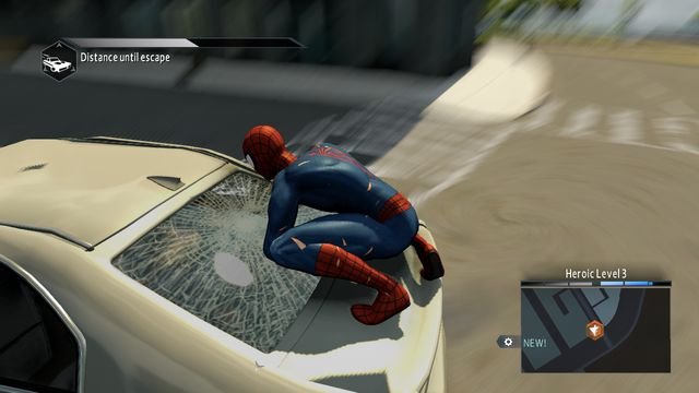 Take the kidnapped woman out of the car. - Live by the sword... - Walkthrough - The Amazing Spider-Man 2 - Game Guide and Walkthrough