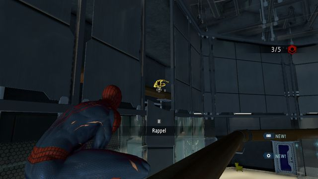 Get over onto the pipes at the other side of the wall - Raid on OSCORP - Walkthrough - The Amazing Spider-Man 2 - Game Guide and Walkthrough