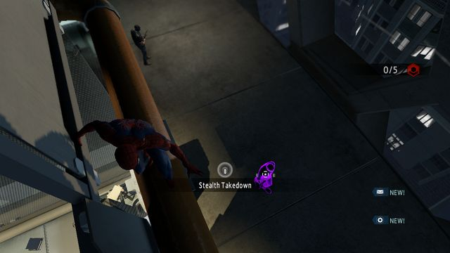 Get rid of the opponent, from above - Raid on OSCORP - Walkthrough - The Amazing Spider-Man 2 - Game Guide and Walkthrough
