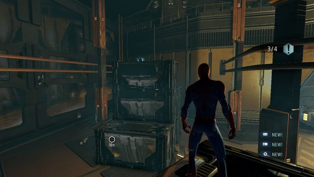 Upgrade crate #6 - Raid on OSCORP - Walkthrough - The Amazing Spider-Man 2 - Game Guide and Walkthrough