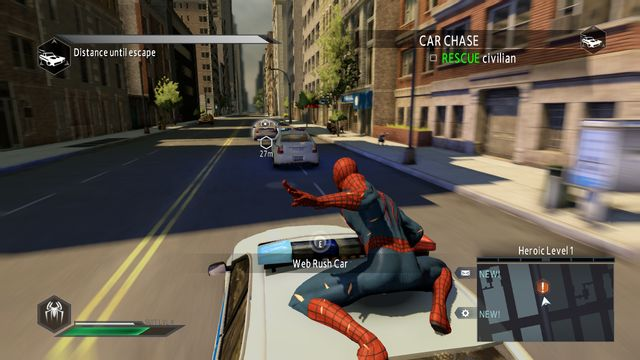 The pursuit - Day of the Hunter! - Walkthrough - The Amazing Spider-Man 2 - Game Guide and Walkthrough