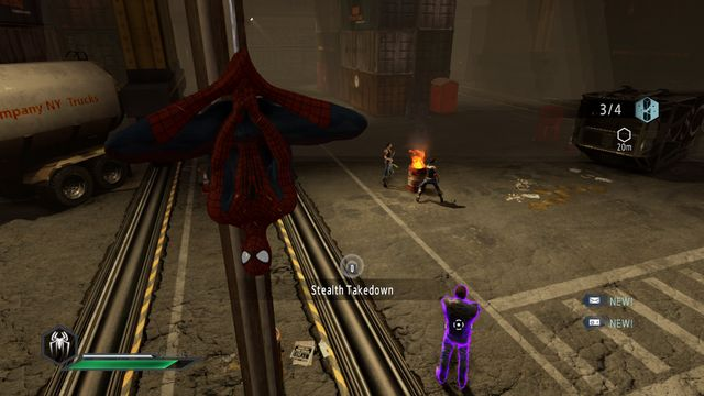 Surprise the opponent - No one is safe! - Walkthrough - The Amazing Spider-Man 2 - Game Guide and Walkthrough