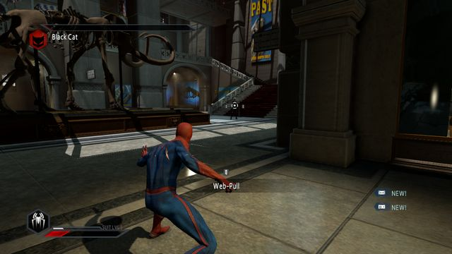 The girl is waiting for you to attack - Claws of the cat! - Walkthrough - The Amazing Spider-Man 2 - Game Guide and Walkthrough