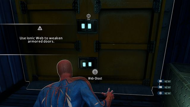 An OSCORP truck - The Kingpin of crime! - Walkthrough - The Amazing Spider-Man 2 - Game Guide and Walkthrough