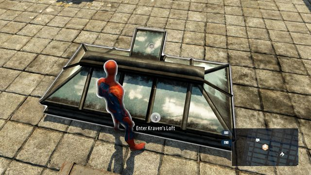 The entrance on the rooftop - My ally, my enemy! - Walkthrough - The Amazing Spider-Man 2 - Game Guide and Walkthrough