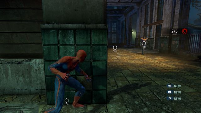 The ground floor of the building in the middle - The Kingpin of crime! - Walkthrough - The Amazing Spider-Man 2 - Game Guide and Walkthrough