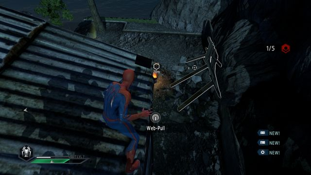 The unstable beams - The Kingpin of crime! - Walkthrough - The Amazing Spider-Man 2 - Game Guide and Walkthrough