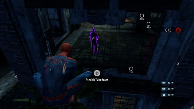 The guard at the window - The Kingpin of crime! - Walkthrough - The Amazing Spider-Man 2 - Game Guide and Walkthrough