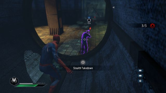 At the end of the tunnel - The Kingpin of crime! - Walkthrough - The Amazing Spider-Man 2 - Game Guide and Walkthrough