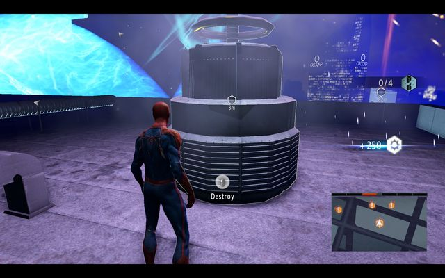 The first generator - Power surge! - Walkthrough - The Amazing Spider-Man 2 - Game Guide and Walkthrough