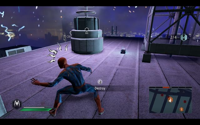 Upgrade crate #2 - Power surge! - Walkthrough - The Amazing Spider-Man 2 - Game Guide and Walkthrough