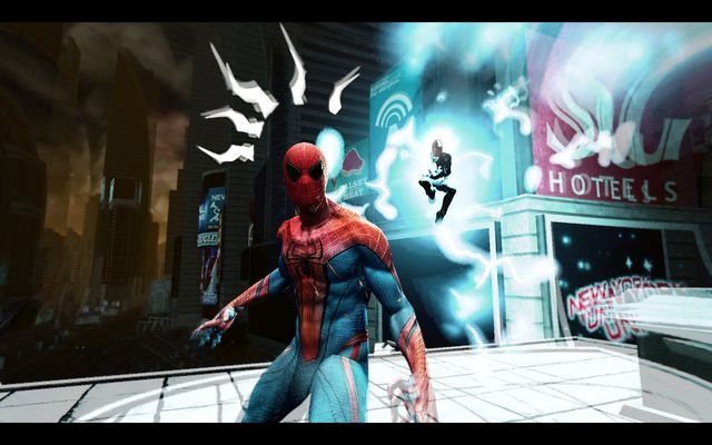 Sensing the danger - Power surge! - Walkthrough - The Amazing Spider-Man 2 - Game Guide and Walkthrough
