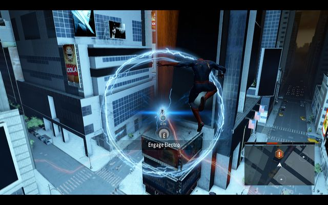 Electro - Power surge! - Walkthrough - The Amazing Spider-Man 2 - Game Guide and Walkthrough