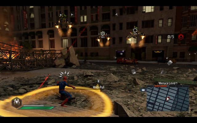 IN front of the OSCORP HQ - The Green Goblin! - Walkthrough - The Amazing Spider-Man 2 - Game Guide and Walkthrough