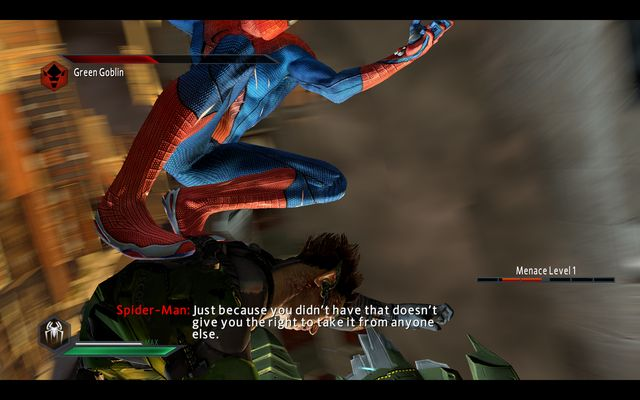 The fight up in the air - The Green Goblin! - Walkthrough - The Amazing Spider-Man 2 - Game Guide and Walkthrough