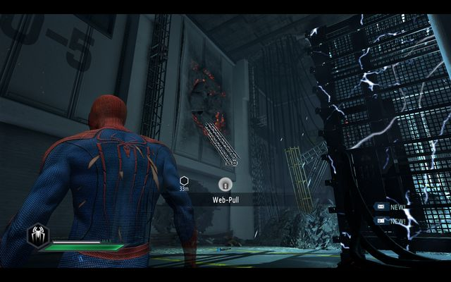 A rip in the wall - Maximum Carnage! - Walkthrough - The Amazing Spider-Man 2 - Game Guide and Walkthrough