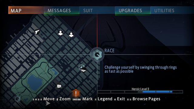 The races - Races and combat challenges - Side missions - The Amazing Spider-Man 2 - Game Guide and Walkthrough