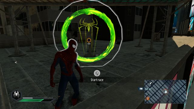 An easy race - Races and combat challenges - Side missions - The Amazing Spider-Man 2 - Game Guide and Walkthrough