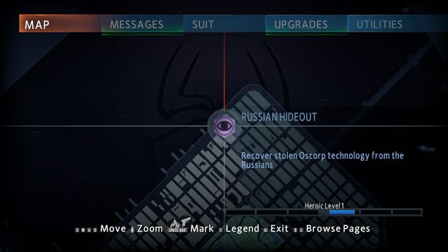 Location #1 - Hideouts - Side missions - The Amazing Spider-Man 2 - Game Guide and Walkthrough