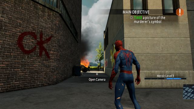 Photo Investigation #1 - Photo Investigation - Side missions - The Amazing Spider-Man 2 - Game Guide and Walkthrough