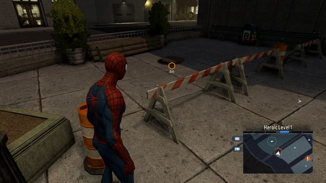 The entrance to the hideout - Hideouts - Side missions - The Amazing Spider-Man 2 - Game Guide and Walkthrough