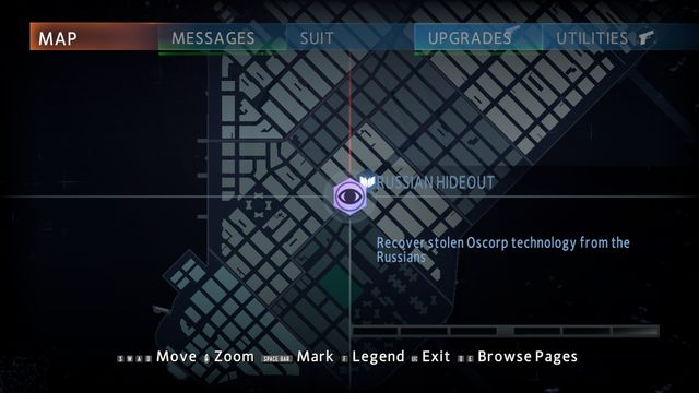 Location #4 - Hideouts - Side missions - The Amazing Spider-Man 2 - Game Guide and Walkthrough
