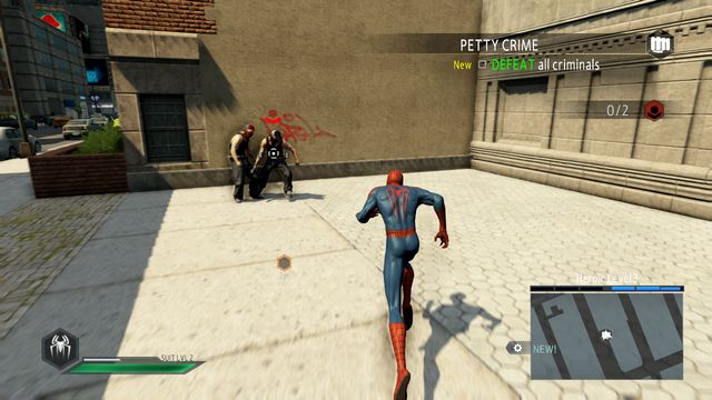Obstructing criminals has a positive effect on your reputation - Optional missions - The Amazing Spider-Man 2 - Game Guide and Walkthrough