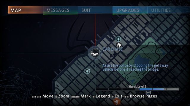 Car chase - Optional missions - The Amazing Spider-Man 2 - Game Guide and Walkthrough