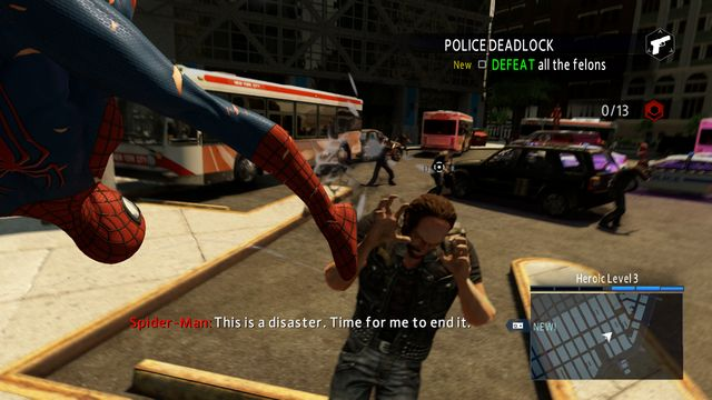 Eliminate all of the opponents - Optional missions - The Amazing Spider-Man 2 - Game Guide and Walkthrough