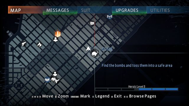 Bomb - Optional missions - The Amazing Spider-Man 2 - Game Guide and Walkthrough