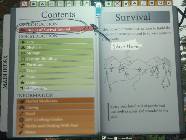 the forest game guide