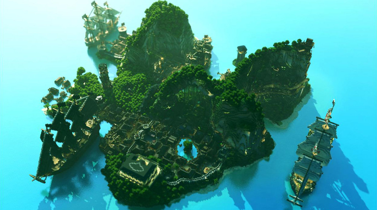 Minecraft: Top 10 Heroic Fantasy Constructions World of