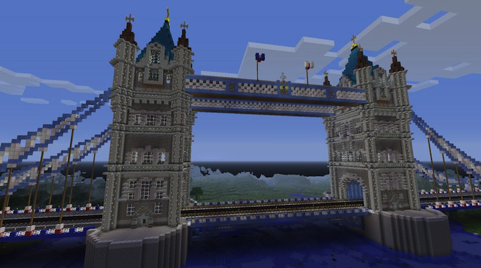 Famous Building In Minecraft